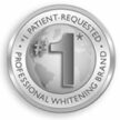Zertifizierung Patient Requested Professional Whitening Brand